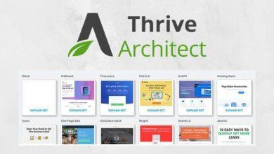 Photo of اضافة thrive architect الخاصة بالوردبرس لبناء صحفات الهبوط الخاصة بالفانل